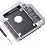 Встановлення додаткового жорсткого диску або SSD замість Superdrive в Optibay