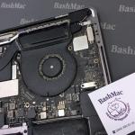Чистка вентилятора MacBook Pro Touch Bar