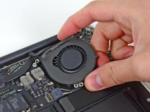 Заміна кулеру на MacBook Air A1370, A1369, A1465, A1466