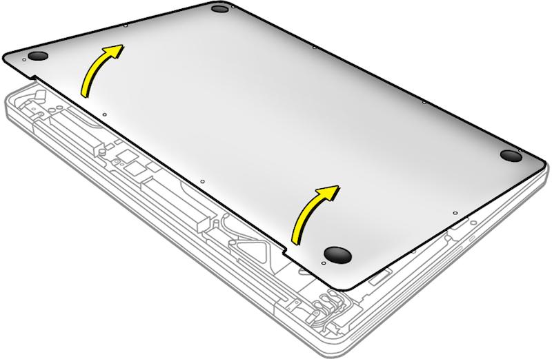 Інструкція з заміни ніжок Макбук