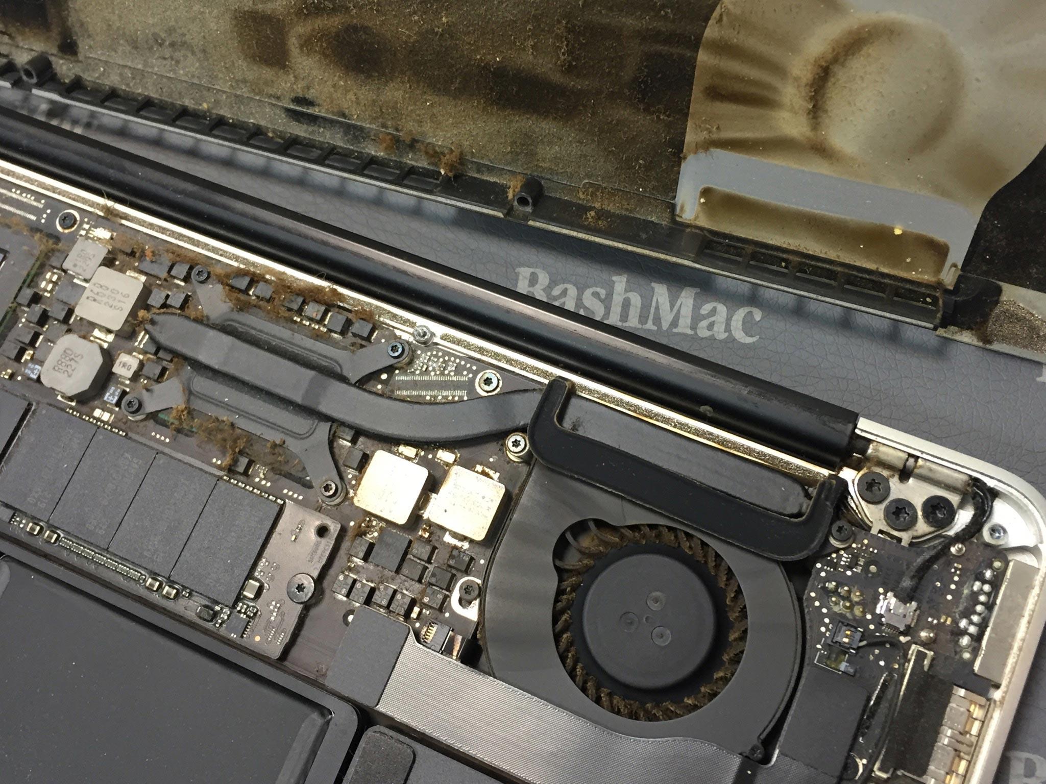 Заміна кулеру на MacBook Air