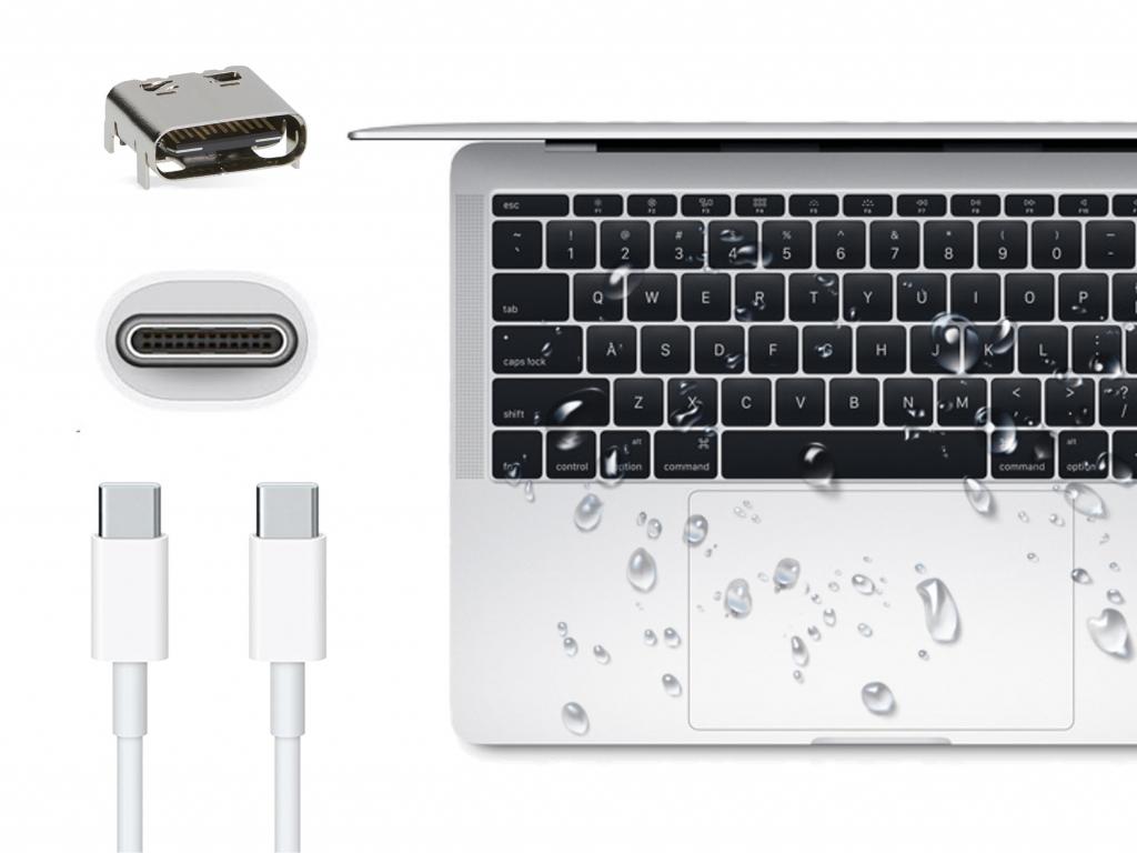 Ремонт USB-C після залиття
