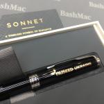 Лазерне гравіювання на ручках Sonnet
