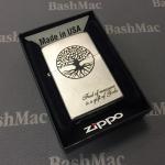 "Zippo 1941 ""1941 REPLICA"" brushed chrome"