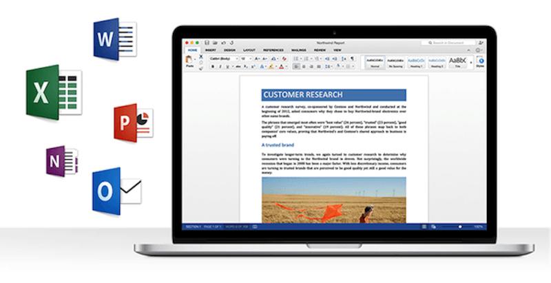 пакет Microsoft Office для Mac