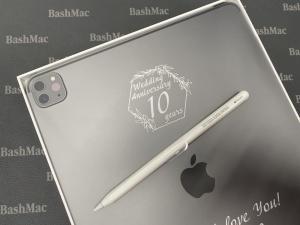 лазерне гравіювання на iPad