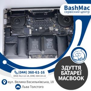 Заміна здутої батареї MacBook
