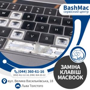Заміна клавіш MacBook